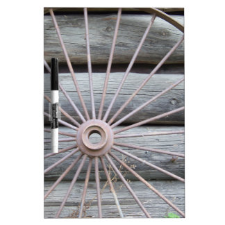 Wagon Wheel Dry Erase Board