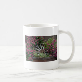 Wagon Wheel flower card Classic White Coffee Mug