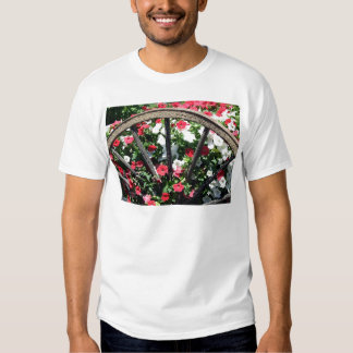 Wagon Wheel Flowers T-shirt