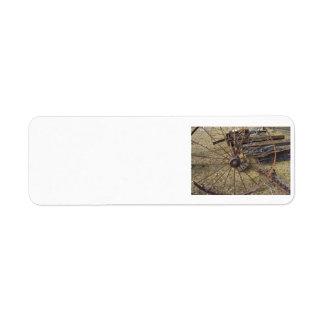 Wagon Wheel Custom Return Address Labels