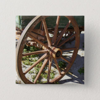 Wagon Wheel Pinback Button