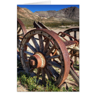 Wagon Wheels Card