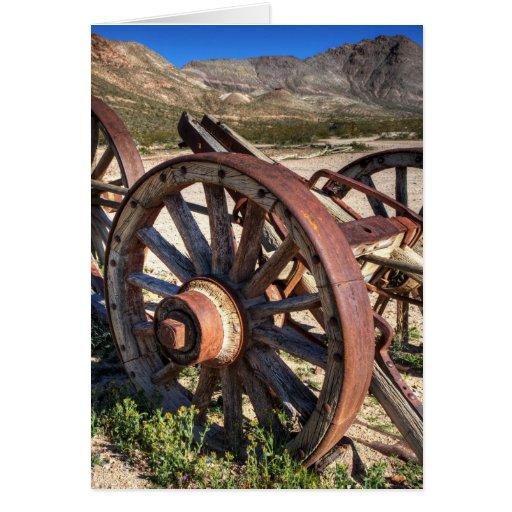 Wagon Wheels Cards