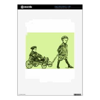 Wagon Wheels Decal For iPad 2