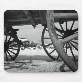 Wagon Wheels Mouse Pad