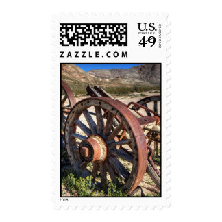 Wagon Wheels Postage Stamps