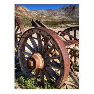 Wagon Wheels Postcard