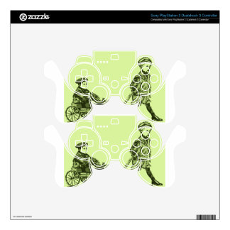 Wagon Wheels PS3 Controller Decals