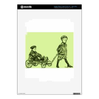Wagon Wheels Skins For iPad 3