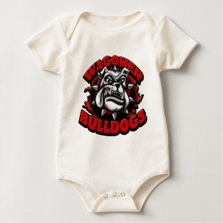 WagonerBulldogs1 Baby Bodysuit