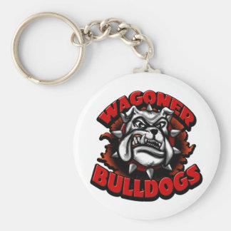 WagonerBulldogs1 Keychain