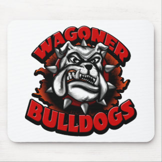 WagonerBulldogs1 Mouse Pad