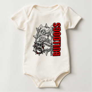 WagonerBulldogs3 Baby Bodysuit