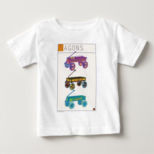 Wagons Baby T-Shirt