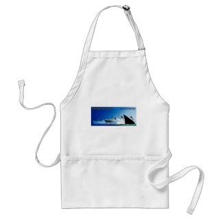 Wagons-Lit // Cook Cruise Ships Vintage Adult Apron