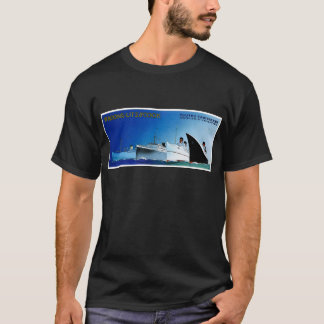 Wagons-Lit // Cook Cruise Ships Vintage T-Shirt
