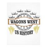 wagons west us history letterhead