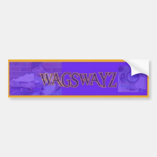 wags bumper sticker