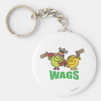 Wags Keychains