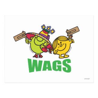 Wags Postcard