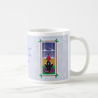 WagsToWishes_Holiday Wishes Snowflakes wrap mug