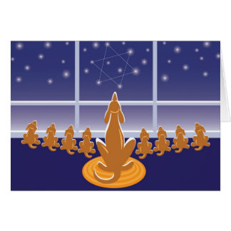 WagsToWishes_Menorah Dogs Greeting Card