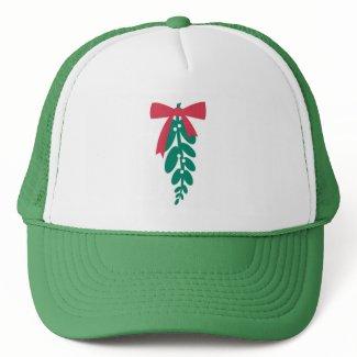 WagsToWishes_Mistletoe holiday hat hat