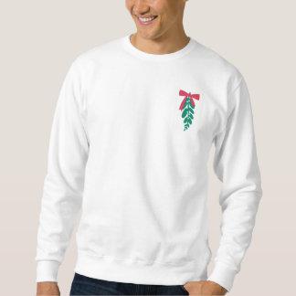 WagsToWishes_Mistletoe Merry Kissmas sweatshirt