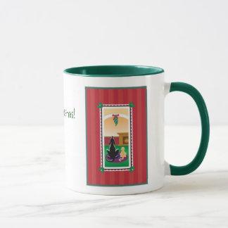 WagsToWishes_Mistletoe Merry Kissmas wrap mug