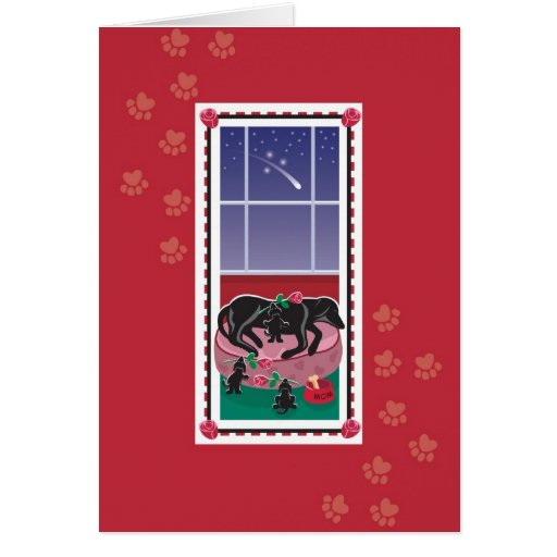WagsToWishes_Pups & Roses Mother's Day card