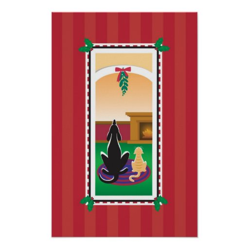WagsToWishes_Under The Mistletoe Holiday poster