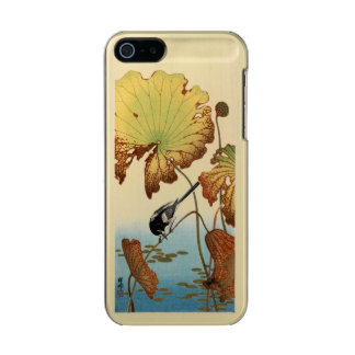 Wagtail and Lotus Vintage Japanese Incipio Feather® Shine iPhone 5 Case