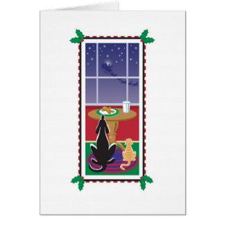 WagToWishes_Be Good Santa's Coming Card