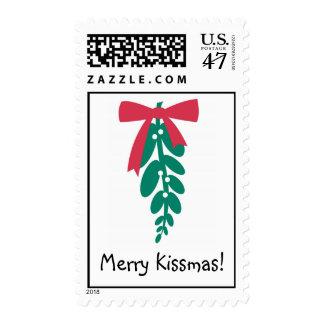 WagToWishes _Mistletoe Merry Kissmas! postage