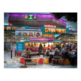 Wahaca pop-up restaurant, London's Southbank Postcard