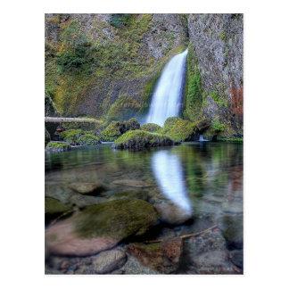 Wahclella Falls Postcard