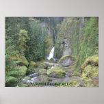 Wahclella Falls poster