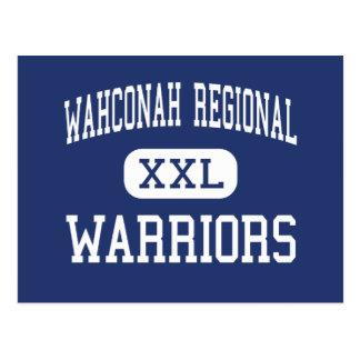 Wahconah Regional - Warriors - High - Dalton Postcard