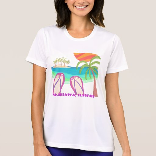 Wahiawa, camiseta del HI