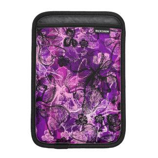 Wahine Lace Hawaiian Orchid iPad Mini Sleeves