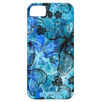 Wahine Lace Hawaiian Orchid iPhone SE/5/5s Case