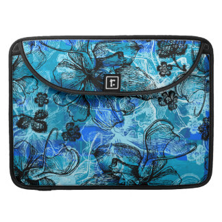 Wahine Lace Hawaiian Rickshaw Flap MacBook Case