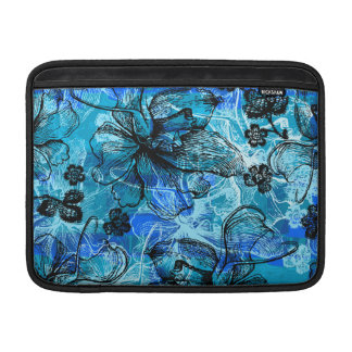 Wahine Lace Hawaiian Rickshaw MacBook Case