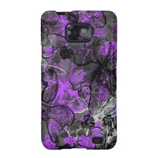 Wahine Lace Hawaiian Samsung Galaxy Case