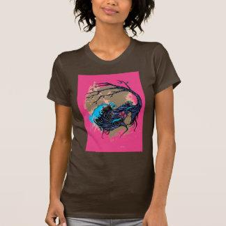 Wahine Mystique Pink (Brown) T-Shirt