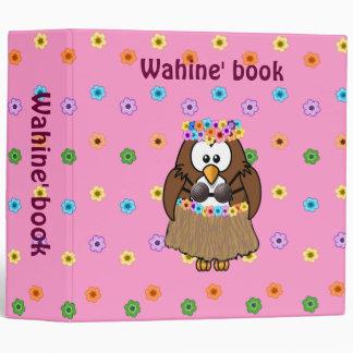 wahine owl binder