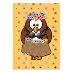 wahine owl business card templates