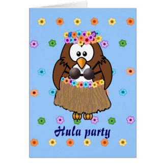 wahine owl card