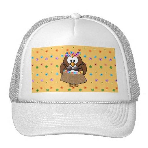 wahine owl trucker hat