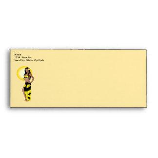 Wahine Pinup 1 Envelope